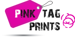 Pink Tag Prints
